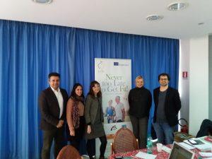 Projenin üçüncü yönetim toplantısı Margherita di Savoi, İtalya'da gerçekleştirildi.